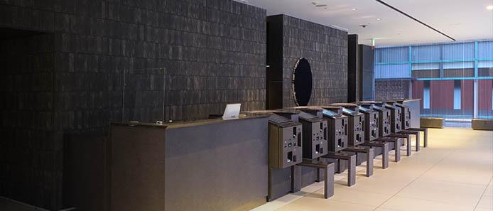 博多グリーンホテル 1号館のロビー